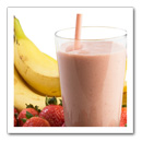 Strawberry Banana Smoothie Recipe: March is National Frozen Food Month. Fruits And Veggies More Matters.org
