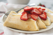 The Everyday Chef: Strawberry Crepes with Greek Yogurt Crème