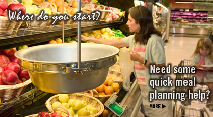 Click here  for quick meal planning help