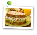 Tuna Apple Salad Sandwich. Fruits And Veggies More Matters.org
