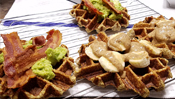 The Everyday Chef: Breakfast & Lunch Cauliflower Waffles You Can Top w/ Just about Anything