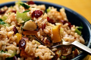 wild rice cranberry salad
