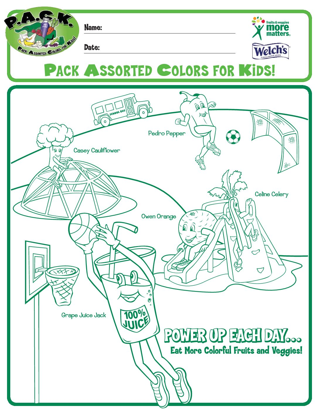 P.A.C.K. – Pack Assorted Colors for Kids Program - Have A Plant