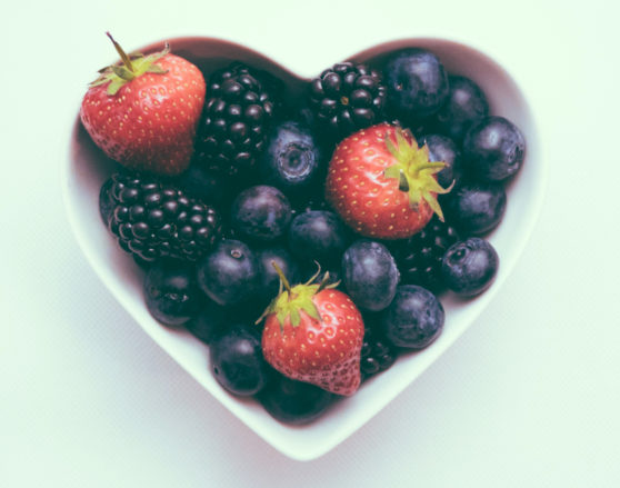fruits vegetables heart health