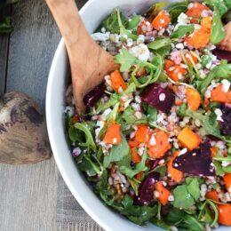 Farro Beet Salad