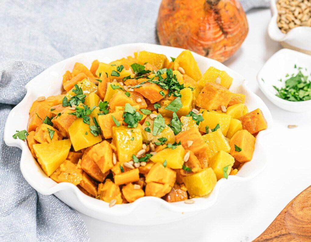 Sweet Potato and Golden Beet Salad